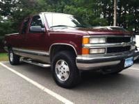 1998 Chevrolet Silverado 1500 LS 4x4. 162,xxx miles.