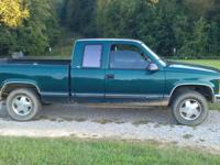 I have a 1998 Chevy Z-71 Extended cab for sale! This is