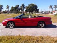 1998 Chrysler Sebring convertible, $2,450 cash, nice