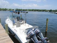 "1998 Cobia 25'6"" with twin Yamaha 150 saltwater series"