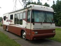 This is a 2 owner diesel pusher with low miles. The