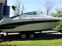 1998 Crownline 250CR cruiser. Mercruiser 5.7 with Bravo