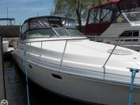 The Cruisers 3375 is one of the most spacious boats in
