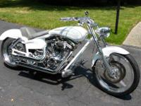 1998 CUSTOM BUILT HARLEY KENNY BOYCE FRAME PRESTON