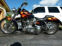 Custom built 1998, Evo engine, 1390cc. ( Harley