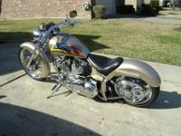 beautiful and fast custom built soft-tail stroker. new