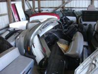 1998 Dodge Caravan for parts White w/ Gray interior
