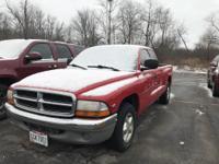 1998 Dodge Dakota Red Magnum 3.9L V6 SMPI.  Options:  4