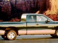1998 Dodge Dakota SLT, Forest Green Pearl/Mist Gray, V6