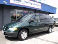 "Options Included: N/A1998 DODGE GRAND CARAVAN ""ALL"