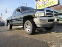 GREAT4WORK! This 1998 Dodge Ram 1500 has 4WD and the