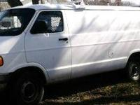 1998 DODGE Ram 3500 1-Ton Extended Cargo Van, 6.0L, AT