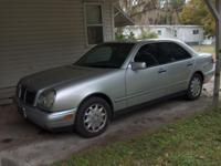 1998 E320 Mercedes Silver/Black 160K miles Excellent