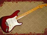 1998 Fender Standard Mexican Stratocaster in Midnight