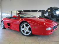 Rosso Corsa F355 in gorgeous condition with black