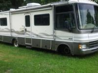 Motor home has a 454 chevy engine 46641 miles. We