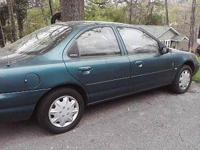 1998 Ford Contour - 4 Doors -Color: Green - AC/Heat -