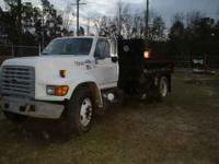 I am selling a 1998 ford dump truck very good working