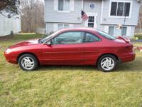 HELLO I HAVE A 1998 FORD ESCORT ZX2 SPORT.. THIS IS A