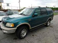Up for sale I have a 1998 Ford Expedition Eddie bauer