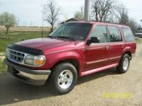 1998 Explorer with V8 and automatic transmission. Runs