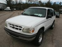 This Ford Explorer is clean and is available for