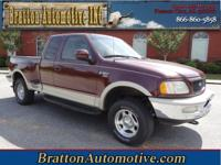 Exterior Color: burgundy, Body: Super Cab Pickup 4X4,
