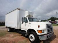 THIS 1998 FORD F-800 BOX TRUCK JUST CAME IN. THIS 5.9L