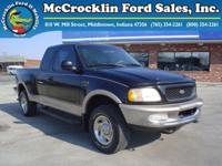 Options Included: N/APreowned 1998 Ford F150 Super Cab