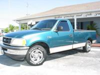 Options Included: This F150 XL Regular Cab features AC,