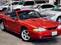 "S V T COBRA ""CARFAX CERTIFIED"" 2 OWNERS / LOW"