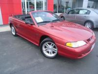 Options Included: N/AAMAZING!!! 1998 FORD MUSTANG GT