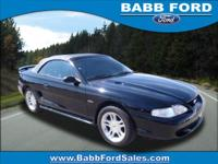 Exterior Color: black, Body: Convertible, Engine: 4.6 8