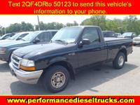 Options Included: N/A1998 FORD RANGER REGULAR CAB 4 CYL