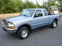 This 1998 Ford Ranger XLT SuperCab Pickup Truck is in