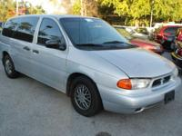 LOW PRICE! GREAT DEAL! This Ford Windstar Runs Great.