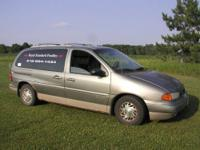 1998 Ford Windstar Northwoods - color Sage/Mint green,