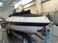 1998 Four Winns 240 Fuel Injected V8. This boat is