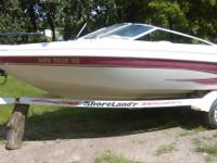 "19"" I/B Ski/fishing boat,  This boat has no"