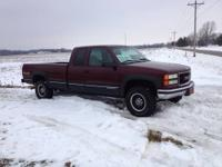 1998 GMC 2500 ext cab 4x4 in good condition with 139k