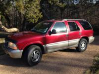 4 wheel drive, runs and drives great, 4 doors,