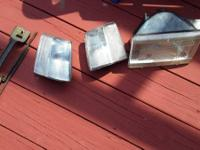 Driver side headlight- $5 clear corner- $10 SOLD