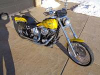 1998 Harley Davidson Softail Custom FXSTC The forks