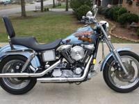 1998 Dyna Low Rider. Runs good. Shows 23k miles but
