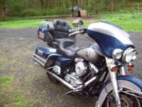 1998 Harley Electra Glide/Has rebuilt title/Bike was