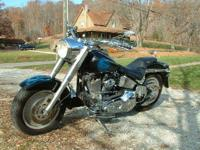 1998 Harley Davidson FLSTF Fat Boy. 1998 Harley Fat boy