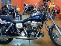 1998 Harley-Davidson FXDWG A classic-styled Wide Glide