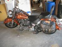 Awesome 1998 Harley davidson Heritage Softail completly