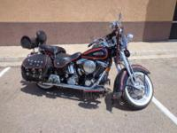 1998 HARLEY DAVIDSON HERITAGE SPRINGER WITH RIGHT