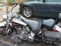 1998 Heritage Softail. 100 cubic cm Ultima Engine with